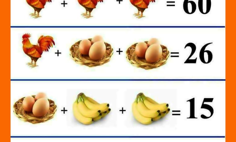 Kohouti, vejce, banány