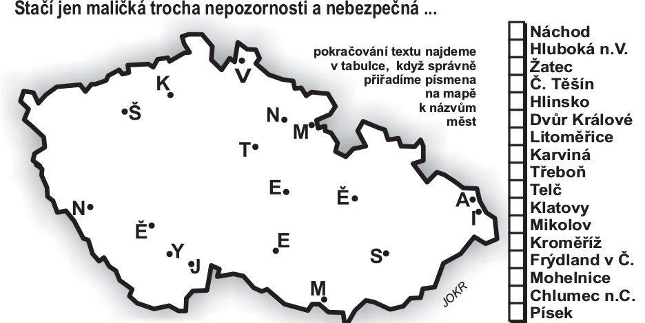 Zeměpisná hádanka
