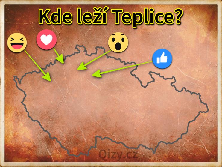 Kde leží Teplice