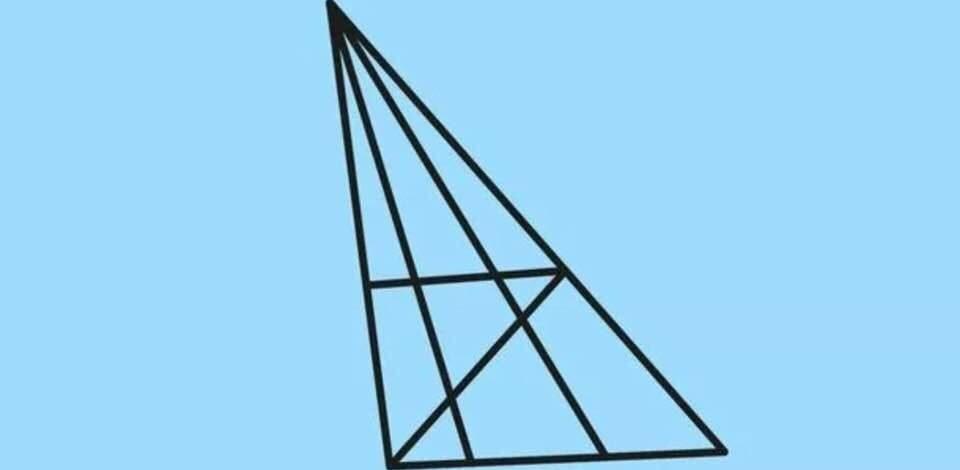 Kolik je na obrázku trojúhelníků?