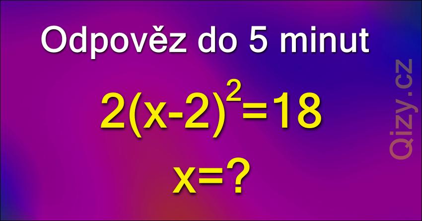 Odpověz do 5 minut