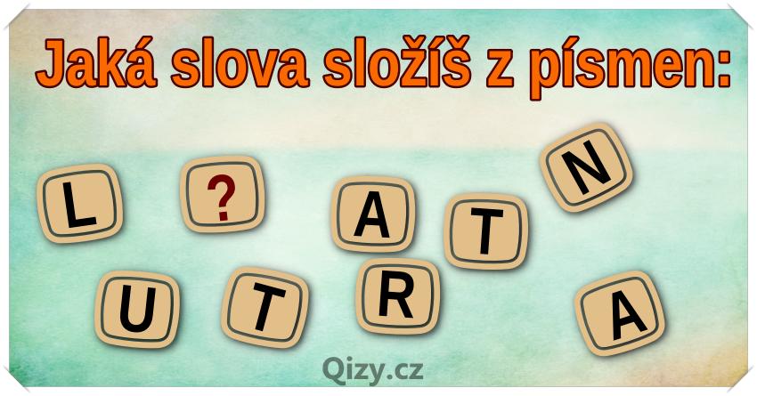 Jaká slova složíš z písmen?