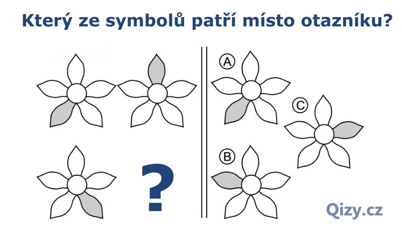 Který ze symbolů patří místo otazníku?