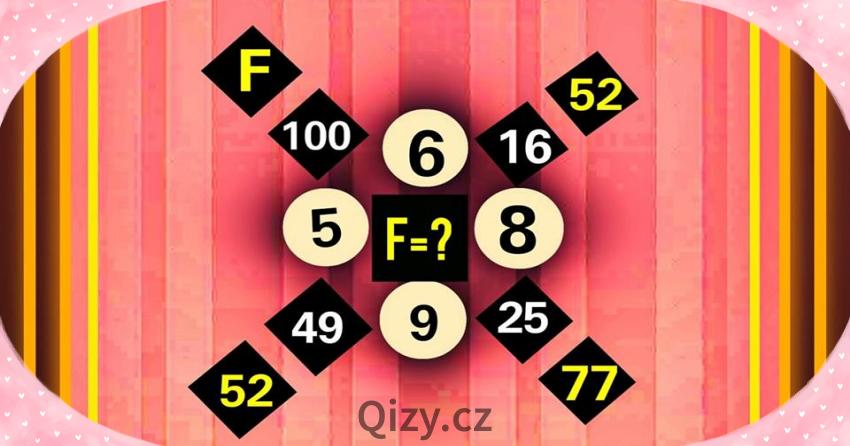 Kolik je F?