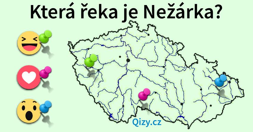 Která řeka je Nežárka?