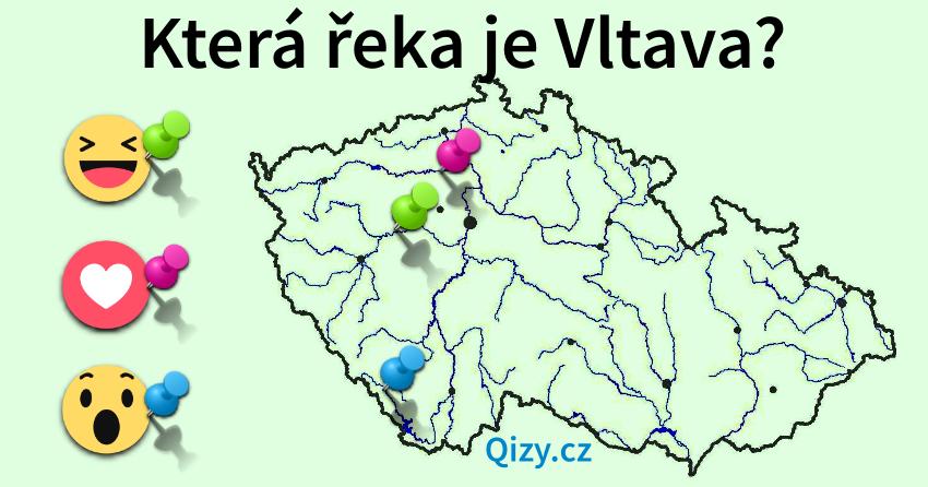Která řeka je Vltava?