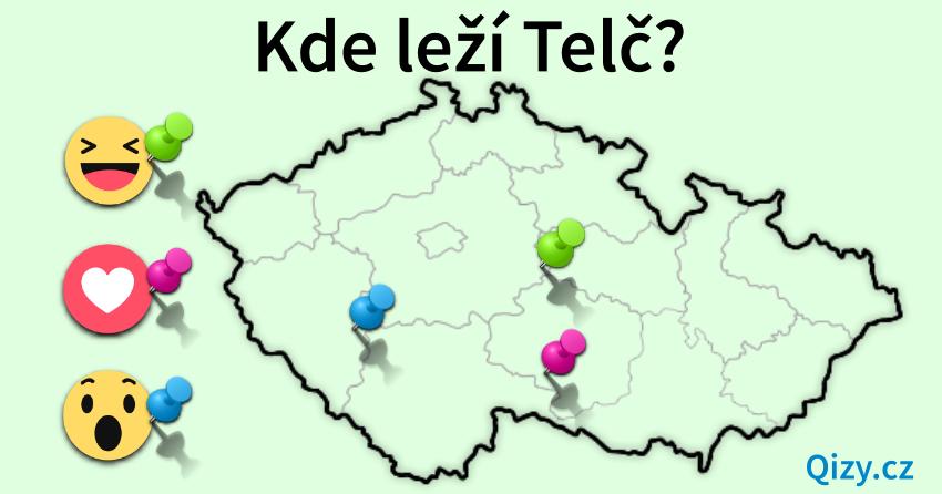 Kde leží město Telč?
