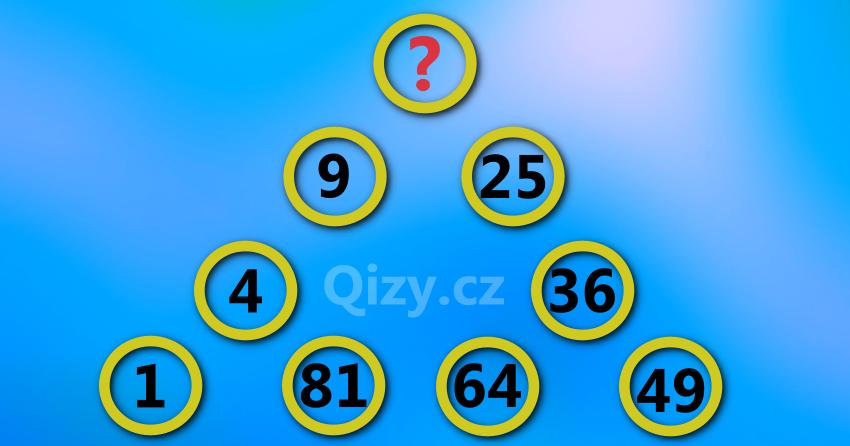Jaké číslo doplníš?