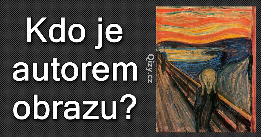 Kdo je autorem obrazu?