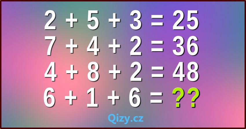 Matematická výzva