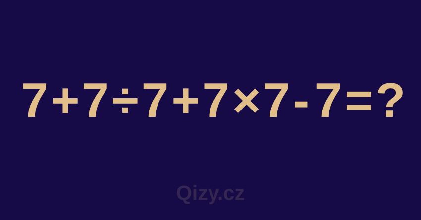 matematické kvízy