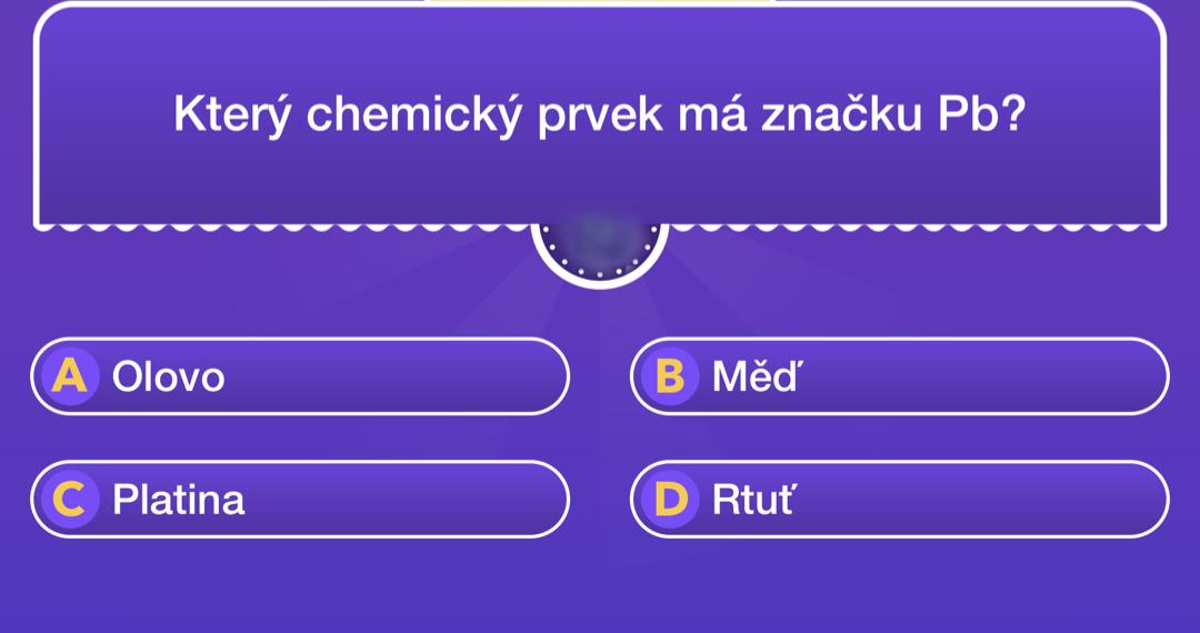 kvíz chemické značky