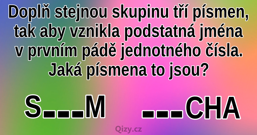 slova hadanka