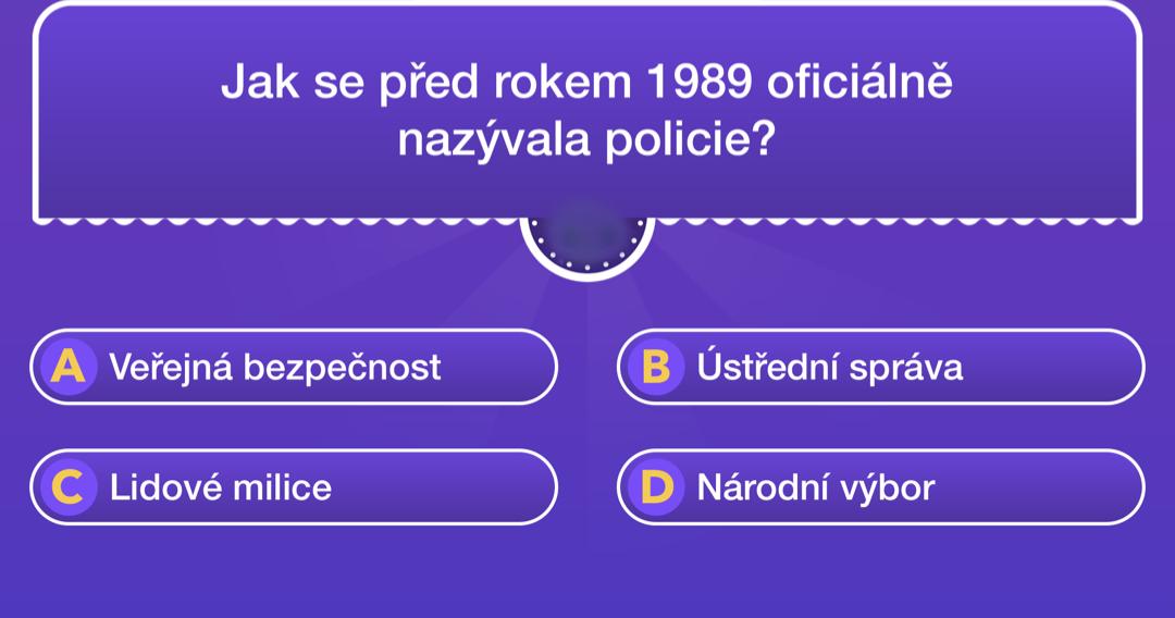 policie kviz