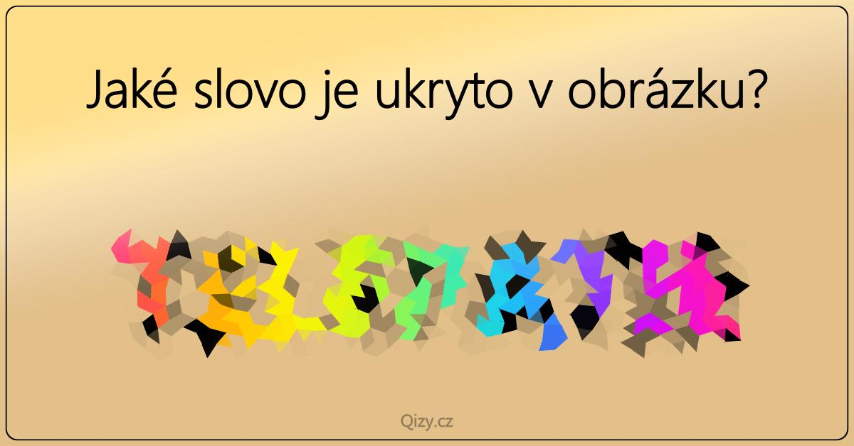 slovo v obrazku