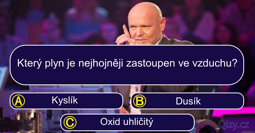 Milionar Chemie Kviz