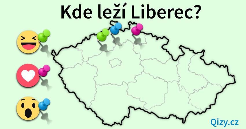 Kde leží Liberec?