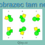 Ktery Obrazec Tam Nepatri Iq Test Qizy 3