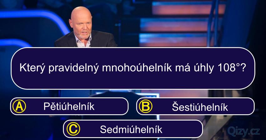 Milionar Kvíz Uhly Mnohoúhelníku