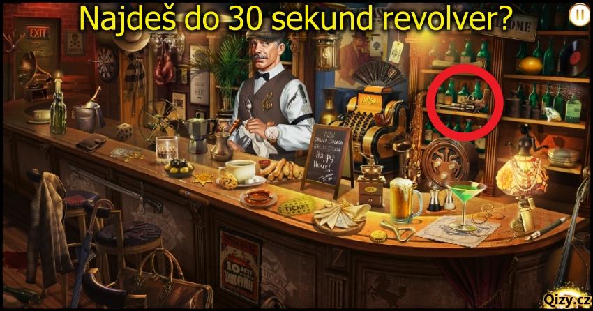 Najdi Na Obrazku Revolver Hadanka Odpoved
