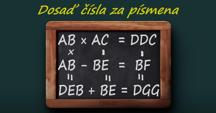 Algebrogram Dosad Cisla Za Pismena 2