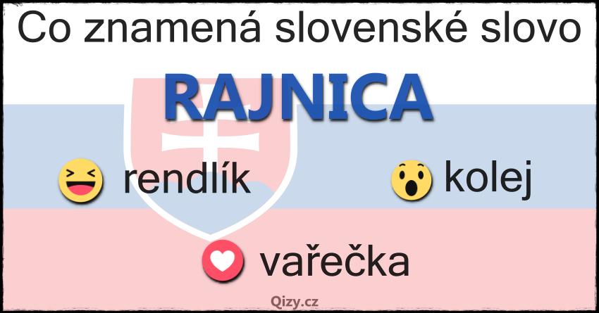 Co Znamena Slovenské Slovo