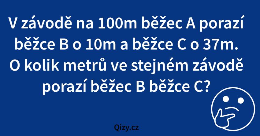 Hadanka S Bezci Na 100m