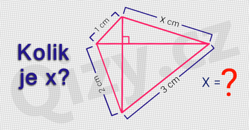Kolik Je X Test Geometrie