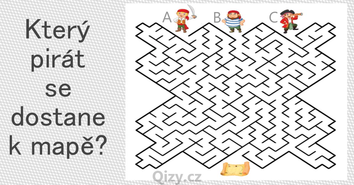 Ktery Pirat Se Dostane K Mape Labyrint