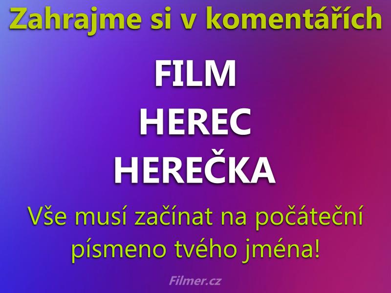 Zahrajme Si Film Herec Herecka
