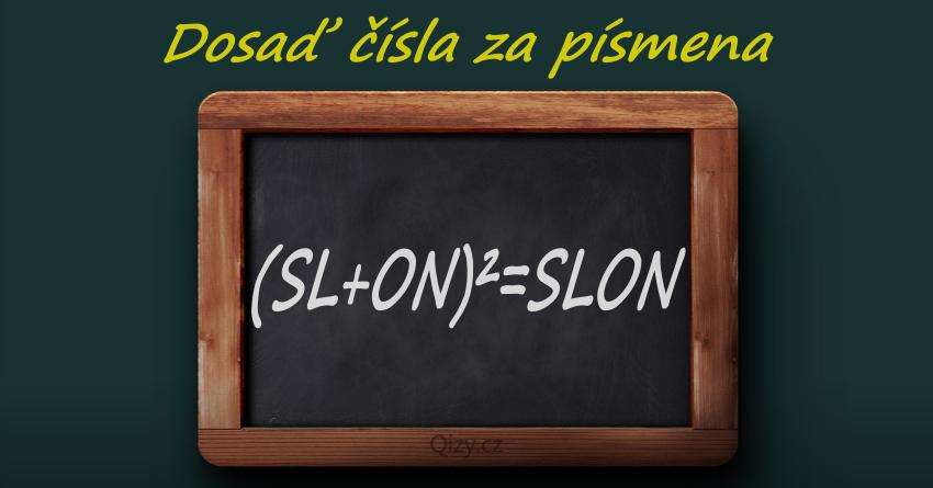 Algebrogram Dosad Cisla Za Pismena Slon