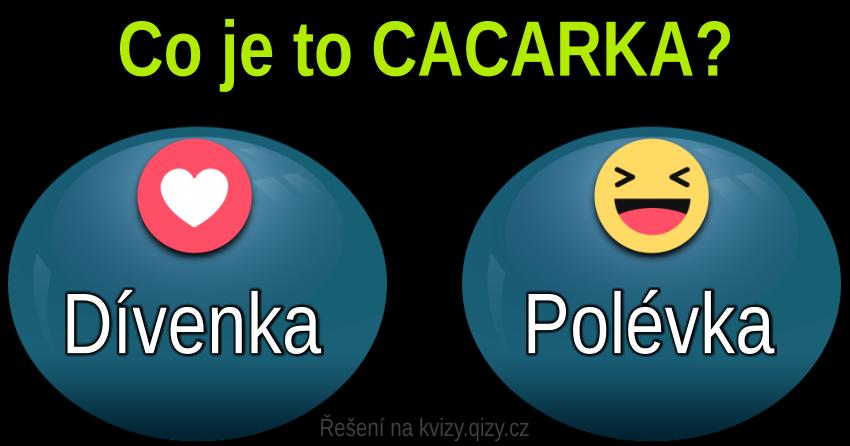 Kvíz Slova Cacarka