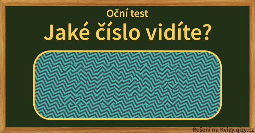 Oční Test Jake Cislo Vidite