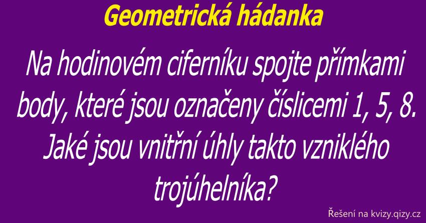 Geometrická Hádanka