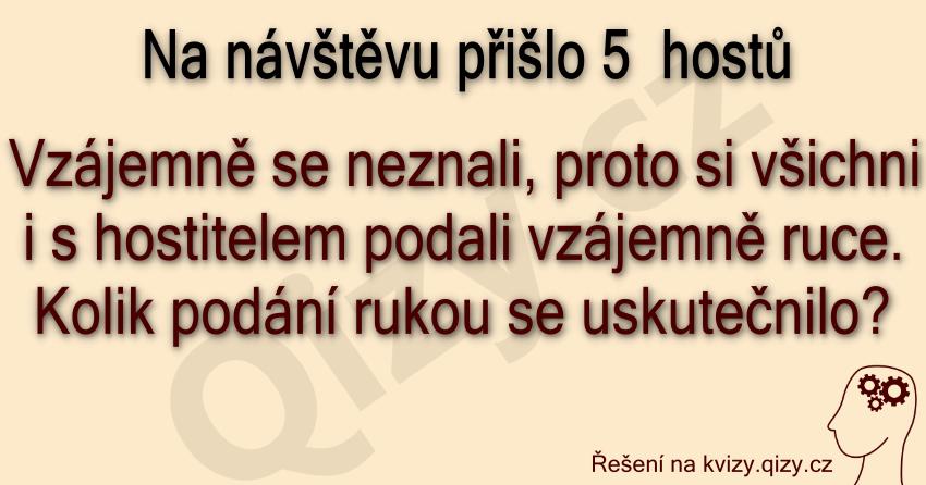 Hoste Si Podali Ruce Hadanka