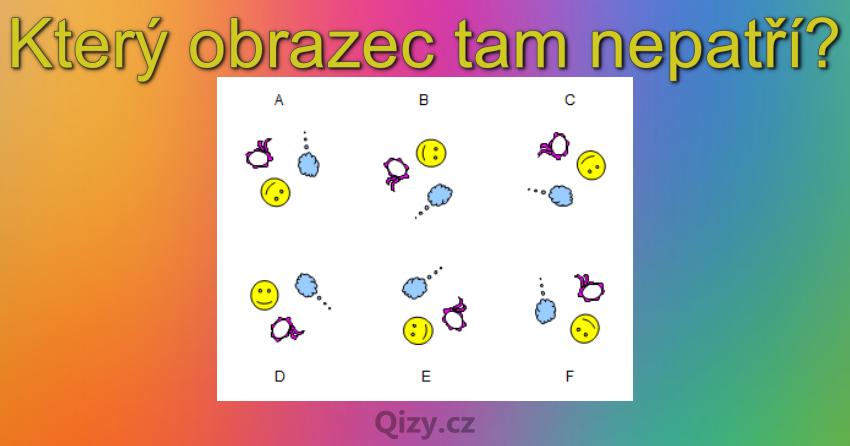 Ktery Obrazec Tam Nepatri Iq Test Qizy 10