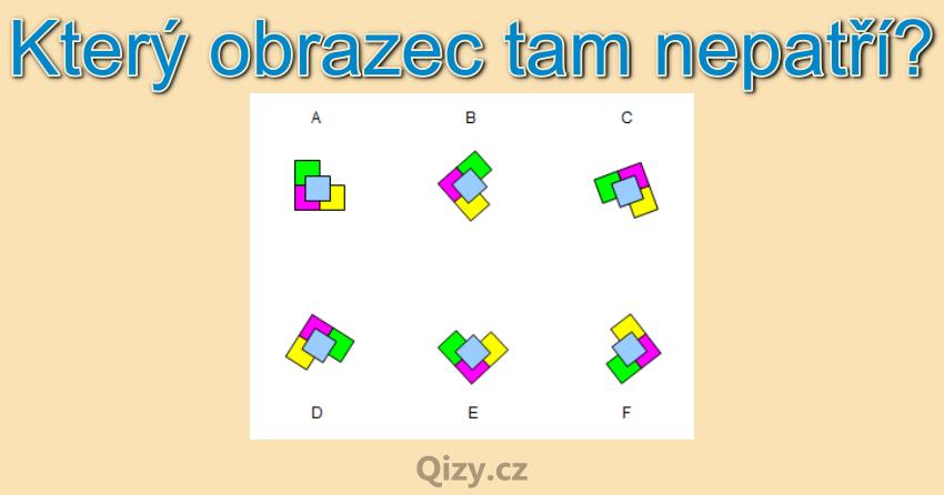 Ktery Obrazec Tam Nepatri Iq Test Qizy 5