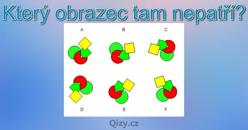 Ktery Obrazec Tam Nepatri Iq Test Qizy 6