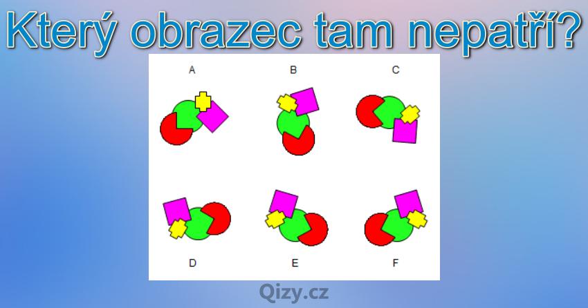 Ktery Obrazec Tam Nepatri Iq Test Qizy 7