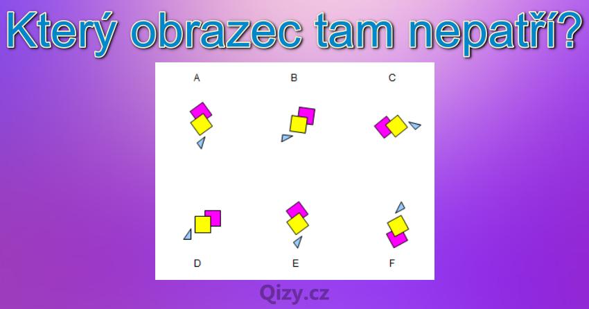 Ktery Obrazec Tam Nepatri Iq Test Qizy 8