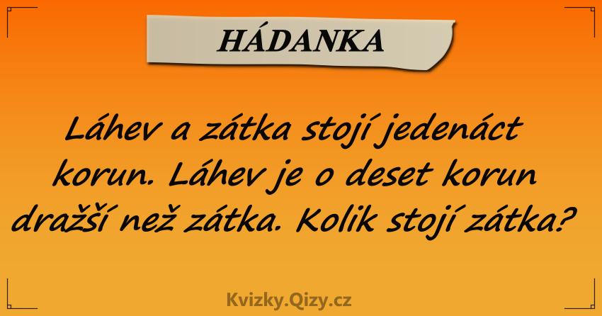 Lahev A Zatka