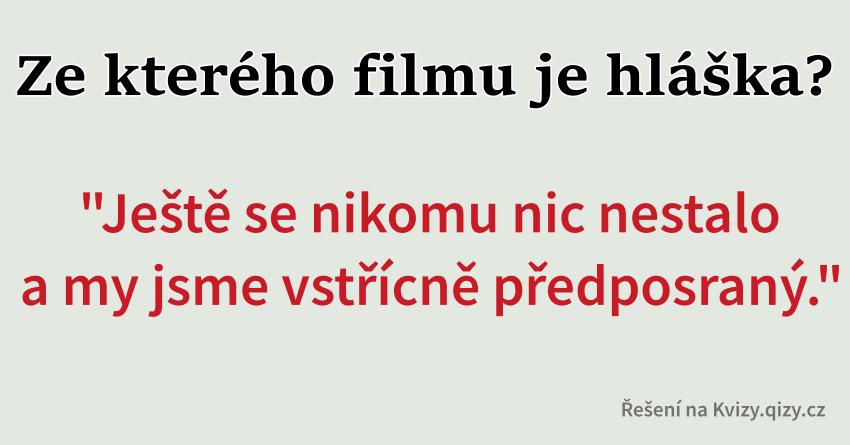 Hlášky Z Filmu