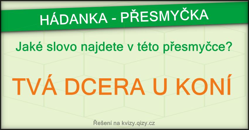 slovni presmycka