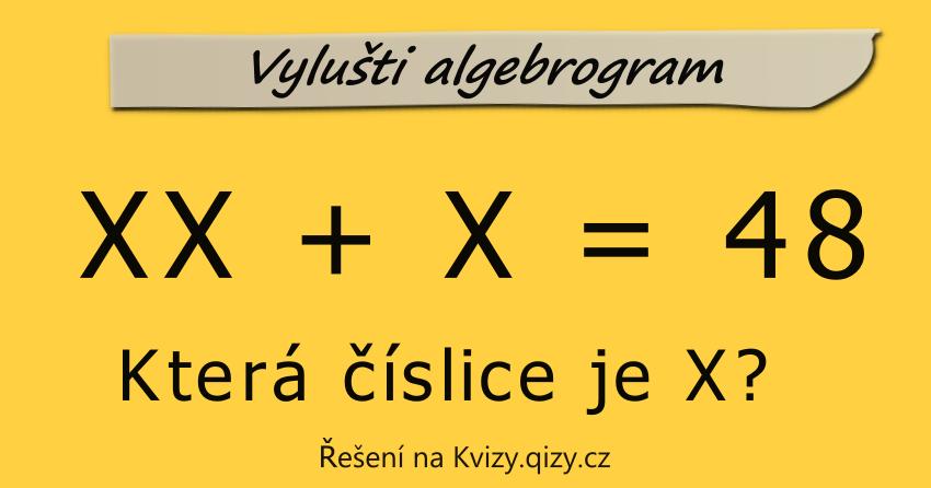 vylušti algebrogram