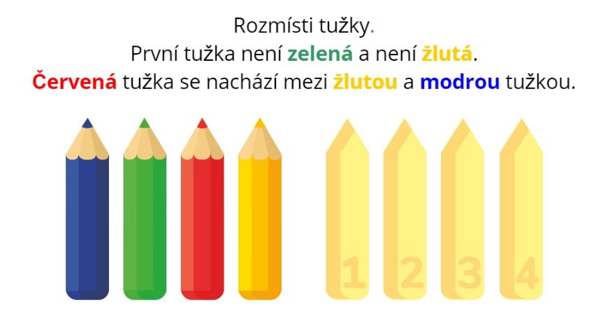 rozmisti tužky